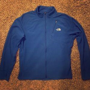 Men's North Face fleece zip up